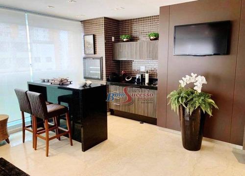 apartamento residencial à venda, jardim anália franco, são paulo. - ap2219