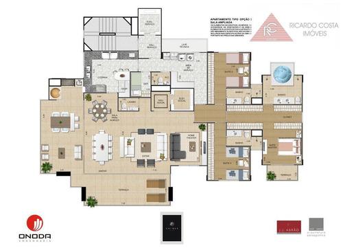 apartamento  residencial à venda, jardim anália franco, são paulo. - ap3460