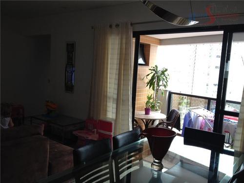 apartamento residencial à venda, jardim anália franco / tatuapé, são paulo. - ap0170