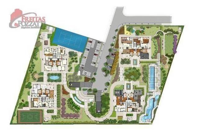 apartamento residencial à venda, jardim aquarius, são josé dos campos. - ap0056