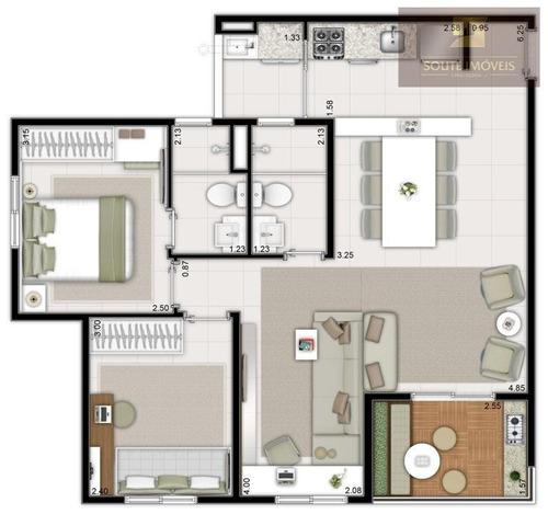 apartamento residencial à venda, jardim aricanduva, são paulo. - codigo: ap1040 - ap1040