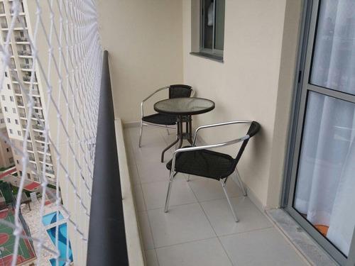 apartamento residencial à venda, jardim augusta, são josé dos campos. - ap2628