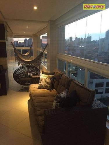 apartamento  residencial à venda, jardim barbosa, guarulhos. - ap0424