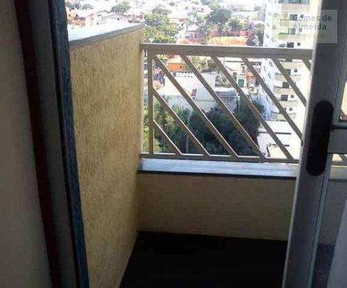 apartamento residencial à venda, jardim bela vista, santo andré - ap1054. - ap1054