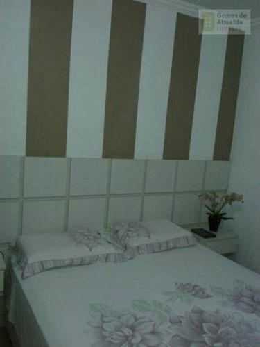 apartamento residencial à venda, jardim bela vista, santo andré - ap1276. - ap1276