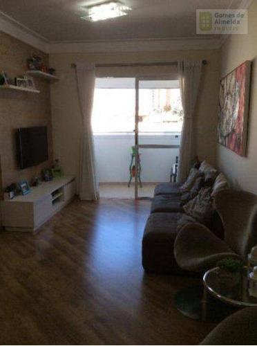 apartamento residencial à venda, jardim bela vista, santo andré - ap1691. - ap1691
