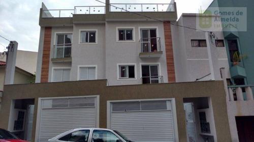 apartamento residencial à venda, jardim bela vista, santo andré - ap2192. - ap2192