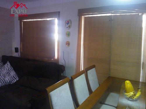 apartamento residencial à venda, jardim bom retiro, valinhos. - ap0163