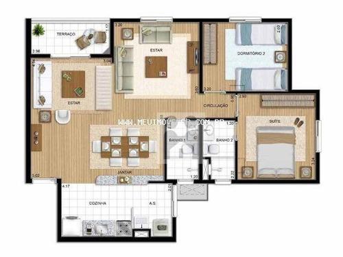 apartamento residencial à venda, jardim botânico, ribeirão preto - ap0054. - ap0054