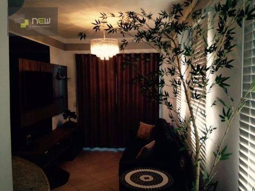 apartamento residencial à venda, jardim botânico, ribeirão preto. - ap0444