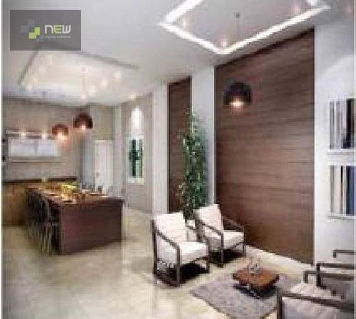 apartamento residencial à venda, jardim botânico, ribeirão preto. - ap0458