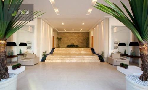 apartamento residencial à venda, jardim botânico, ribeirão preto. - ap0473