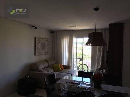 apartamento residencial à venda, jardim botânico, ribeirão preto. - ap0885