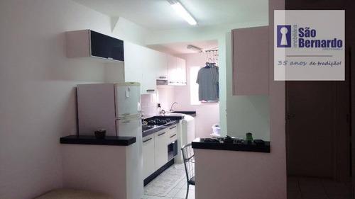 apartamento  residencial à venda, jardim brasil, americana. - ap0459