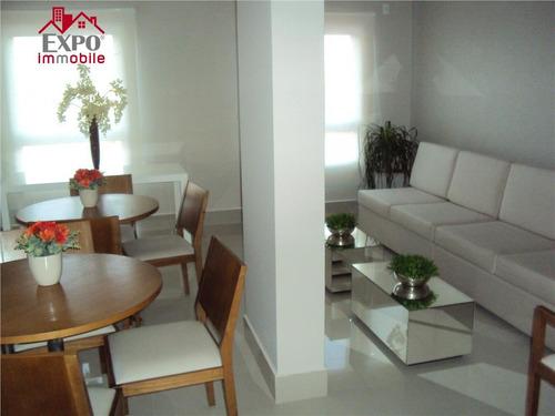 apartamento residencial à venda, jardim campos elíseos, campinas. - ap0022