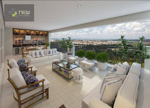 apartamento residencial à venda, jardim canadá, ribeirão preto. - ap0535
