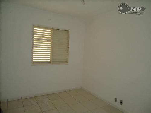 apartamento  residencial à venda, jardim capivari, campinas. - ap0356
