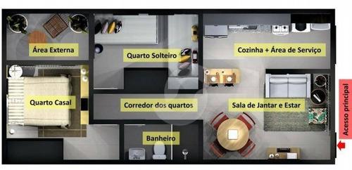 apartamento residencial à venda, jardim catarina, são gonçalo. - ap6491