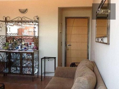 apartamento residencial à venda, jardim chapadão, campinas. - ap0826