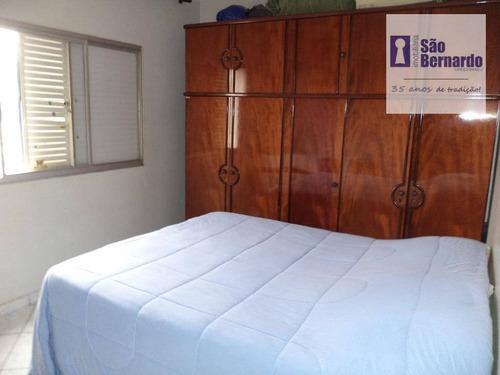 apartamento residencial à venda, jardim colina, americana. - ap0487