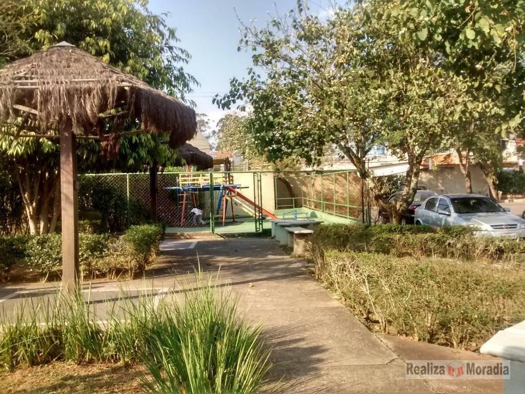 apartamento residencial à venda, jardim da glória, cotia. - ap0098