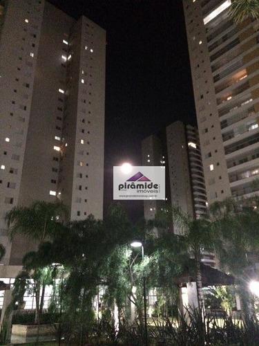 apartamento residencial à venda, jardim das indústrias, são josé dos campos. - ap7262