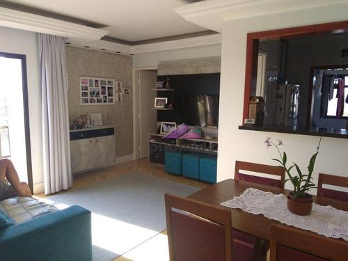 apartamento residencial à venda, jardim das indústrias, são josé dos campos. - ap8981