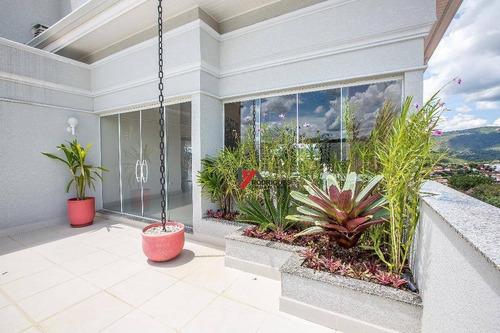 apartamento residencial à venda, jardim do lago, atibaia. - ap0272