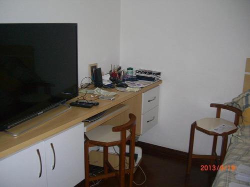 apartamento residencial à venda, jardim do mar, são bernardo do campo. - ap0283