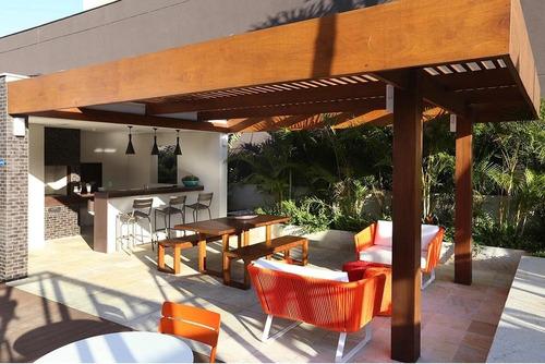 apartamento residencial à venda, jardim do mar, são bernardo do campo. - ap1547