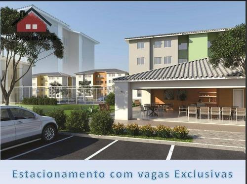 apartamento residencial à venda, jardim esmeralda, colombo - ap0207. - ap0207