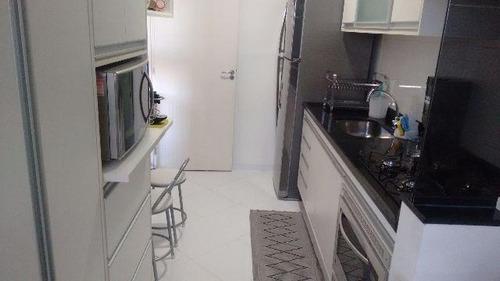 apartamento residencial à venda, jardim esplanada, são josé dos campos. - ap1834