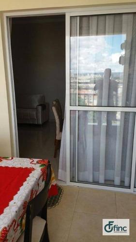 apartamento residencial à venda, jardim europa, sorocaba. - ap0821