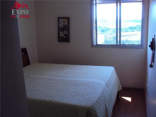 apartamento residencial à venda, jardim flamboyant, campinas. - ap0046