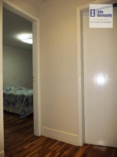 apartamento residencial à venda, jardim glória, americana. - ap0095