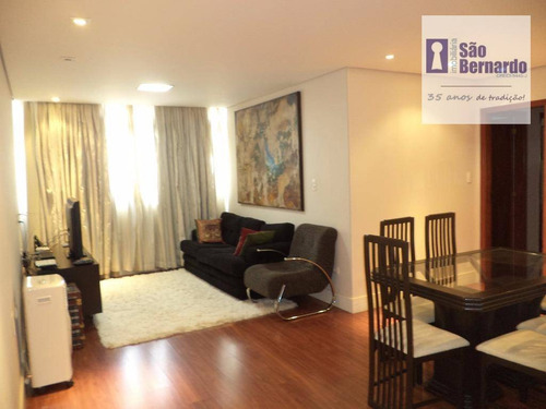 apartamento  residencial à venda, jardim glória, americana. - ap0451
