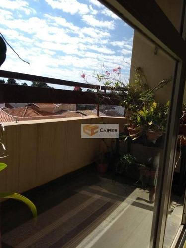 apartamento residencial à venda, jardim guarani, campinas. - ap5099