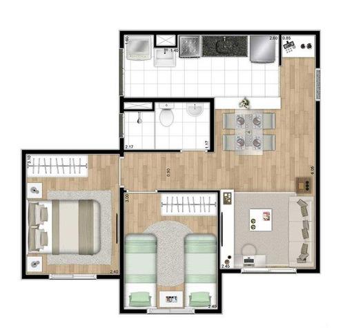 apartamento residencial à venda, jardim helena, são paulo. - ap0695