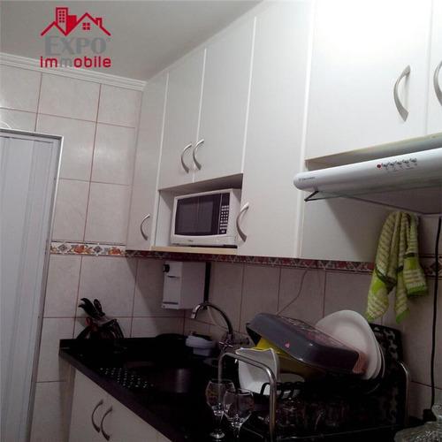apartamento residencial à venda, jardim ipiranga, campinas. - ap0031