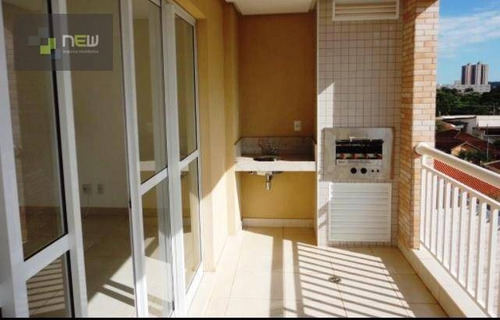 apartamento  residencial à venda, jardim irajá, ribeirão preto. - ap0607