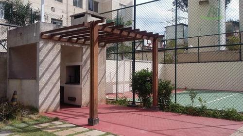 apartamento residencial à venda, jardim íris, são paulo. - ap0154