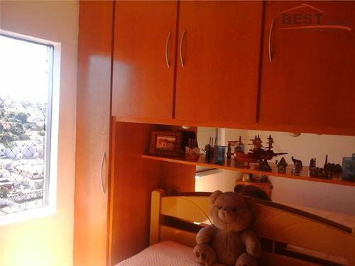 apartamento residencial à venda, jardim íris, são paulo. - ap3637