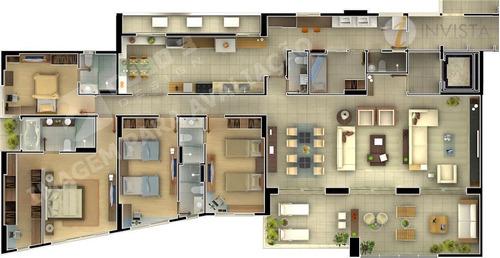 apartamento  residencial à venda, jardim luna, joão pessoa. - ap3591