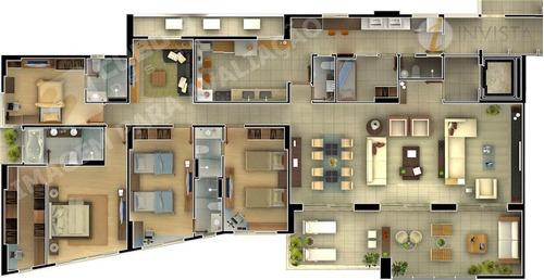 apartamento  residencial à venda, jardim luna, joão pessoa. - ap3592