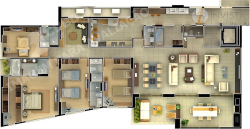 apartamento  residencial à venda, jardim luna, joão pessoa. - ap3593