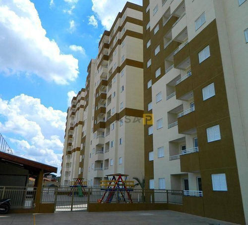 apartamento residencial à venda, jardim marajoara, nova odessa. - ap0213