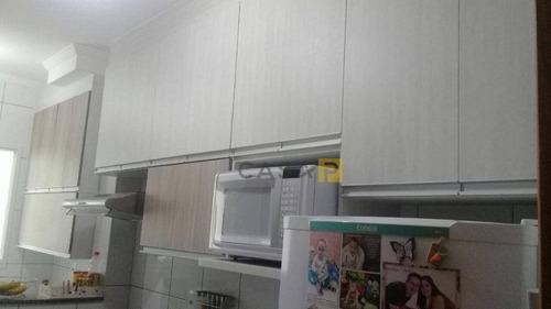 apartamento residencial à venda, jardim marajoara, nova odessa. - ap0236