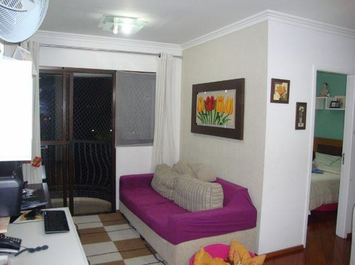 apartamento  residencial à venda, jardim marajoara, são paulo. - ap2827