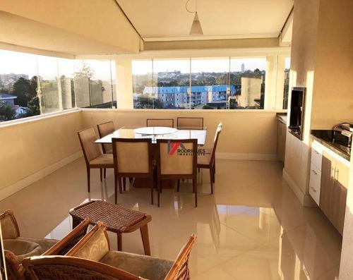 apartamento residencial à venda, jardim maristela, atibaia. - ap0261