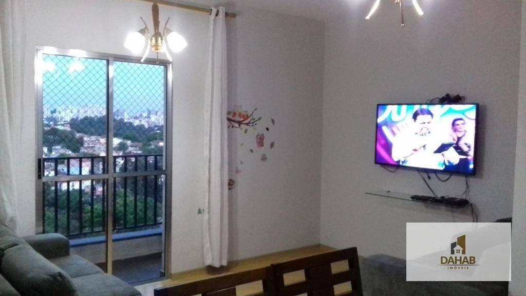 apartamento residencial à venda, jardim monte alegre, taboão da serra. - ap0110